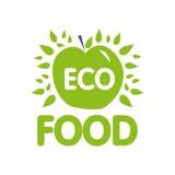 Green apple - vector logo. The idea of a logo design for a compa. Ny Stock Images