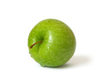 Green apple on a white background Stock Image