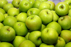 Green Apples 1. Heaps of fresh green apples Royalty Free Stock Photos