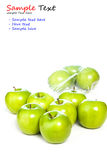 Green apples  Royalty Free Stock Image
