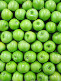 Green apples. Photo of green apples at the marketplace Royalty Free Stock Photos