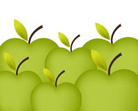 Green Apples Background Royalty Free Stock Image