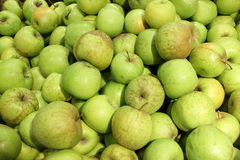 Green apples background Royalty Free Stock Photo