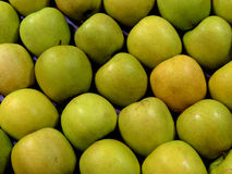 Green Apples. In a Box Royalty Free Stock Photography