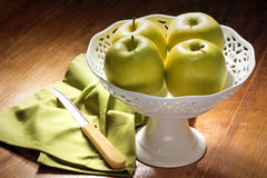 Green apples Stock Image