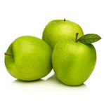 Green apples -granny smith Stock Image