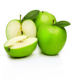 Green apples -granny smith Royalty Free Stock Image