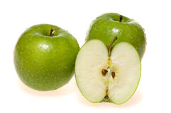 Green apples (granny smith) Stock Photo