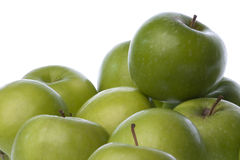 Green Apples Isolated Royalty Free Stock Photos