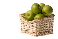 Green Apples Isolated Royalty Free Stock Photography