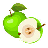 Green apples. Royalty Free Stock Photography