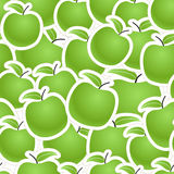 Green apples seamless background Royalty Free Stock Photo