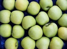 Green Apples Texture Royalty Free Stock Images