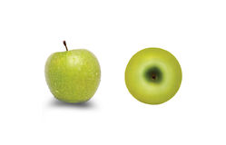 Green apples Royalty Free Stock Images