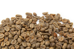 Green Arabica coffee beans  Stock Photo