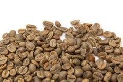 Green Arabica coffee beans  Stock Photo