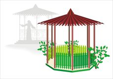 Green arbor Stock Photos