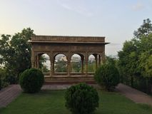 Green architecture. Architects uncovered udaipur royalty free stock photos