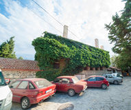 Green architecture in Pomorie in Bulgaria Royalty Free Stock Photo