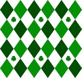 Green Argyle royalty free illustration
