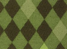 Green Argyle Stock Photo
