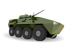 Green Armored Personnel Carrier Stock Photos