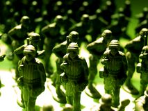 Green army  4 Royalty Free Stock Photos