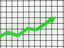 Green arrow Royalty Free Stock Photo