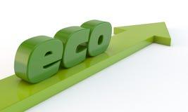 Green arrow Stock Image