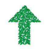 Green arrow Royalty Free Stock Image