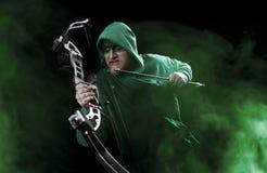 Green arrow Stock Photo