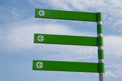 Green Arrow Sign Royalty Free Stock Photo