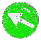 Green Arrow Sign Royalty Free Stock Images