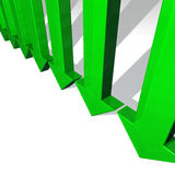 Green arrows Royalty Free Stock Images