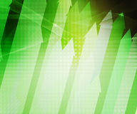 Green Arrows Abstract Background Royalty Free Stock Photo