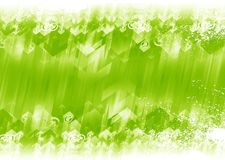Green Arrows Background Stock Images