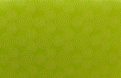 Green art pattern linen fabric texture for background Stock Photos