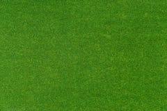Green artificial grass mat Royalty Free Stock Photography