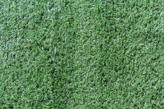 Green artificial grass soccer Stock Photography