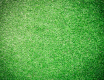 Green artificial turf for background Royalty Free Stock Image