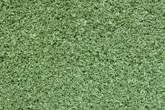 Green artificial turf Royalty Free Stock Image