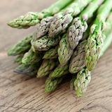 Green asparagus. Stock Images