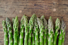 Green asparagus. Royalty Free Stock Image