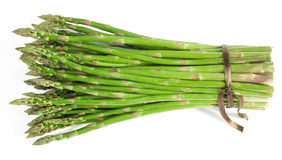 Green asparagus. Bunch of fresh green asparagus Royalty Free Stock Images
