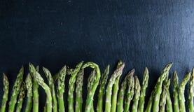 Green Asparagus (close-up shot) Royalty Free Stock Image