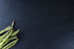 Green Asparagus (close-up shot) Royalty Free Stock Photos