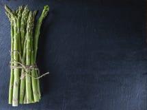 Green Asparagus (close-up shot) Stock Photo