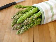 Green asparagus Royalty Free Stock Photo