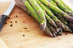 Green Asparagus Stock Photography