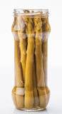 Green asparagus from Navarra Stock Images